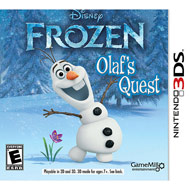 Disney Frozen Olaf's Quest (3DS) [USED CO]