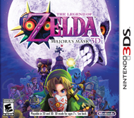 Legend of Zelda, The Majora's Mask (3DS) [USED]