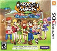 Harvest Moon Skytree Village (3DS) [USED]