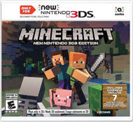Minecraft New Nintendo 3DS Edition (3DS) [USED]