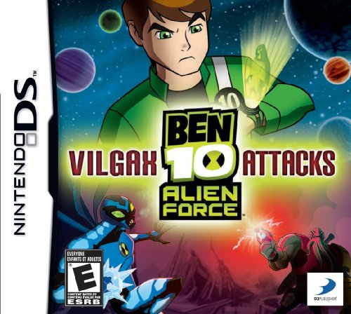 BEN 10 ALIEN FORCE Vilgax Attac (Nintendo DS) [USED CO]