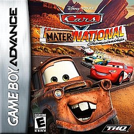 Cars Mater-National (Game Boy Advance) [USED CO]