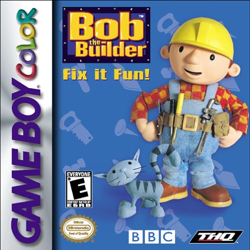 Bob the Builder Fix it Fun! (Game Boy Color) [USED CO]