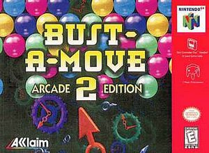 Bust-A-Move 2 Arcade Edition (Nintendo 64) [USED CO]