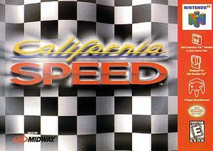 California Speed (Nintendo 64) [USED CO]