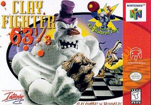 ClayFighter 63 1/3 (Nintendo 64) [USED CO]