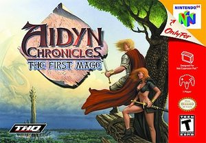 Aidyn Chronicles The First Mage (Nintendo 64) [USED CO]