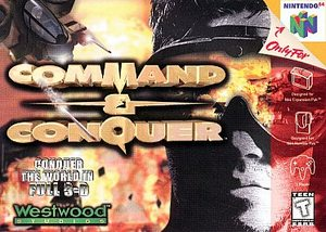 Command & Conquer (Nintendo 64) [USED CO]