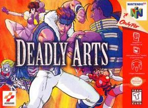 Deadly Arts (Nintendo 64) [USED CO]