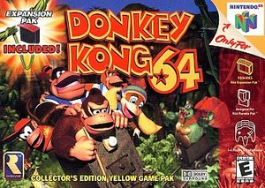 Donkey Kong 64 (Nintendo 64) [USED CO]