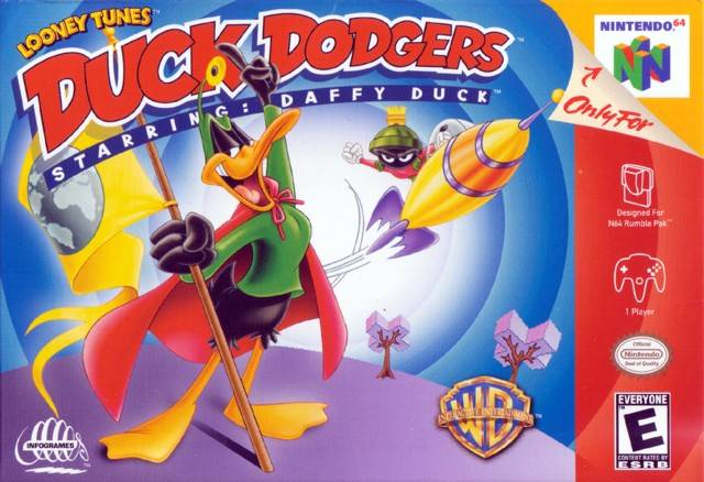Duck Dodgers Starring Daffy Duc (Nintendo 64) [USED CO]