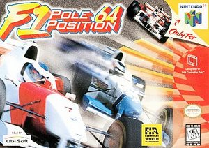 F1 Pole Position 64 (Nintendo 64) [USED CO]