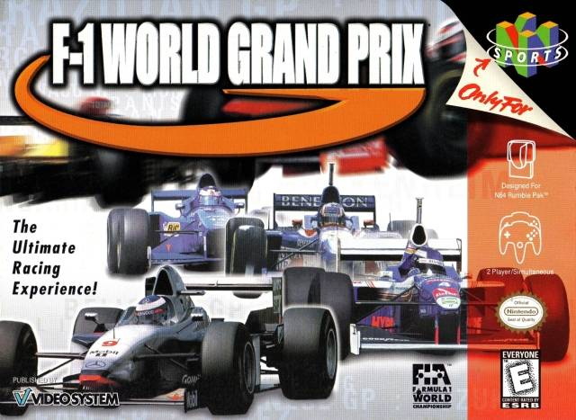 F-1 World Grand Prix (Nintendo 64) [USED CO]