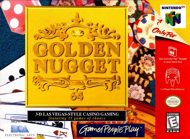 Golden Nugget 64 (Nintendo 64) [USED CO]