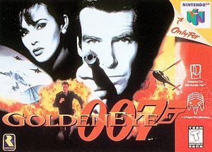 GoldenEye 007 (Nintendo 64) [USED CO]