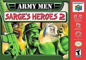 Army Men Sarge's Heroes 2 (Nintendo 64) [USED CO]