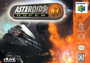 Asteroids Hyper 64 (Nintendo 64) [USED CO]