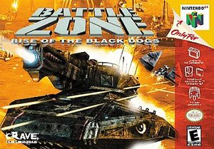Battlezone Rise of the Black Do (Nintendo 64) [USED CO]