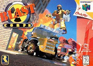 Blast Corps (Nintendo 64) [USED CO]