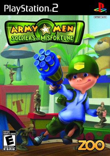 Army Men Soldiers of Misfortune (Playstation 2) [USED]