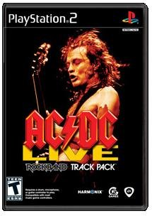 AC/DC Live Rock Band Track Pack (Playstation 2) [USED]