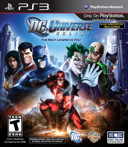 DC Universe Online (Playstation 3) [USED DO]