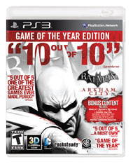 Batman Arkham City Game of the Yea (Playstation 3) [USED]