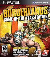 Borderlands Game of the Year Editi (Playstation 3) [USED]