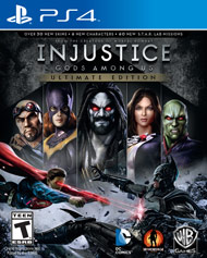Injustice Gods Among Us Ultimate E (Playstation 4) [USED]