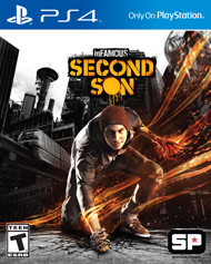 inFamous Second Son (Playstation 4) [USED]