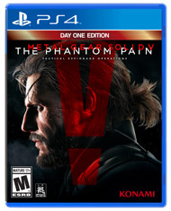 Metal Gear Solid V The Phantom Pai (Playstation 4) [USED]