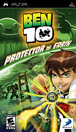 Ben 10 Protector of Earth (Playstation Portable) [USED DO]