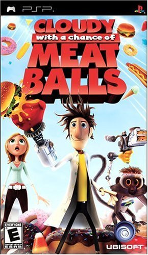Cloudy With a Chance of Meatballs (Playstation Portable) [USED]