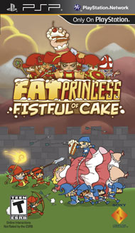 Fat Princess Fistful of Cake (Playstation Portable) [USED]