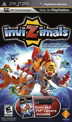 Invizimals (Playstation Portable) [USED]
