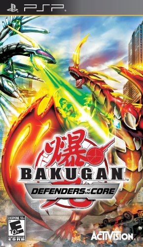 Bakugan Defenders of the Core (Playstation Portable) [USED]