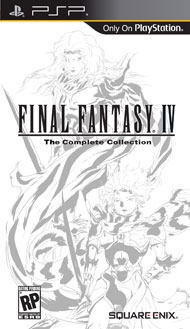 Final Fantasy IV The Complete Coll (Playstation Portable) [USED]