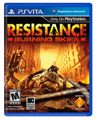 Resistance Burning Skies (PS Vita) [USED DO]