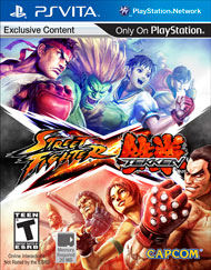Street Fighter X Tekken (PS Vita) [USED DO]