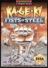 Ka-Ge-Ki Fists of Steel (Sega Genesis) [USED CO]