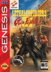Lethal Enforcers II Gun Fighter (Sega Genesis) [USED CO]