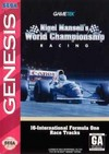Nigel Mansell's World Champions (Sega Genesis) [USED CO]