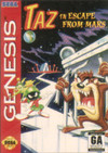 Taz in Escape From Mars (Sega Genesis) [USED CO]