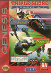 Triple Score 3 Games in 1 (Sega Genesis) [USED CO]