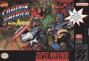 Captain America and the Avenger (Super Nintendo) [USED CO]