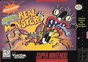 AAAHH!!! Real Monsters (Super Nintendo) [USED CO]