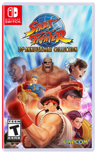 Street Fighter 30th Anniversary Co (Nintendo Switch) [USED]