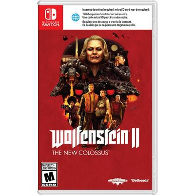 Wolfenstein II The New Colossus (Nintendo Switch) [USED CO]