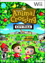 Animal Crossing City Folk (Wii) [USED]