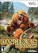 Cabela's Dangerous Hunts 2009 (Wii) [USED]
